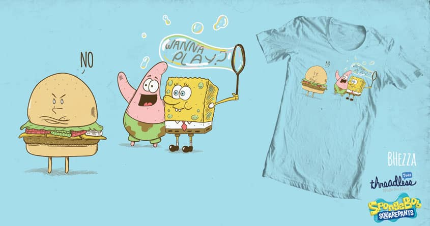 This Patty aint half Crabby by BubbleHezza on Threadless