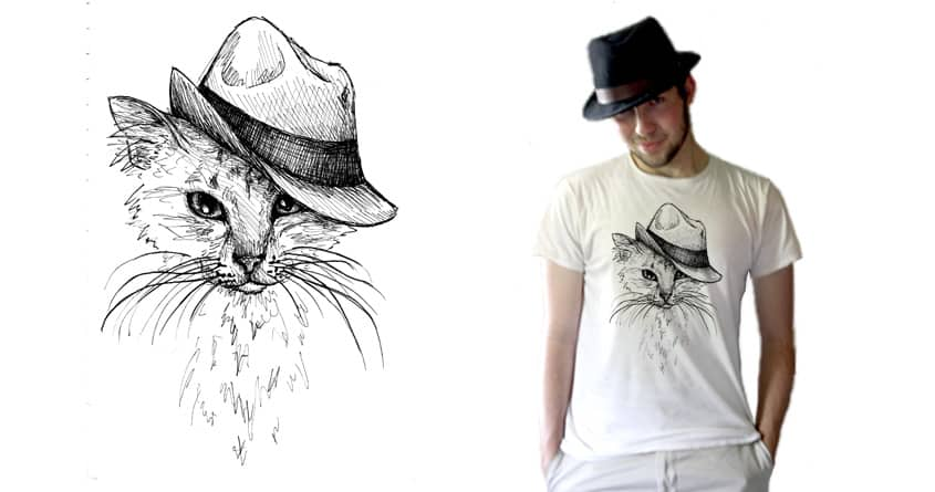 Cat in the Hat by Serenae on Threadless