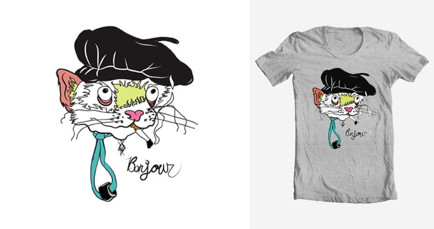 Bonjour. by rtraut on Threadless