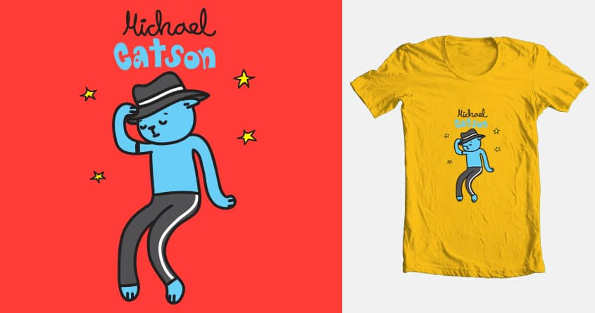 Michael Catson by luciacool on Threadless
