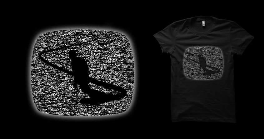 TV snowboarding by ntesign on Threadless