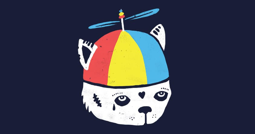 Blue Beanie Propeller Hat - Adult - Bartz's Party Stores