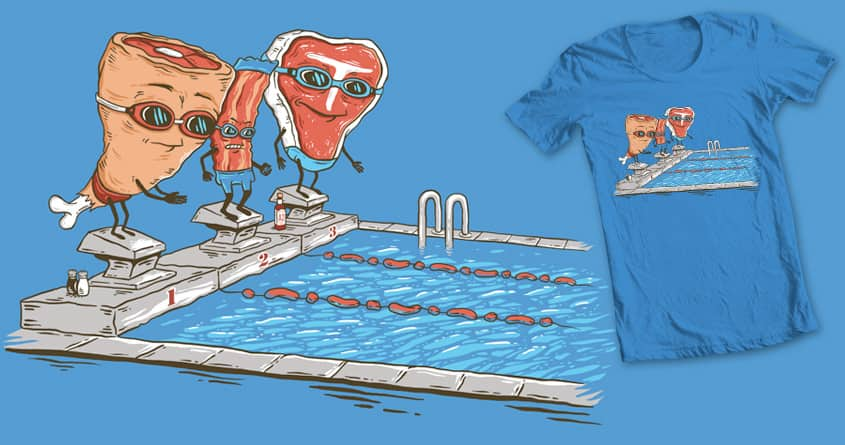 Swim Meat by FRICKINAWESOME and bennyd302 on Threadless