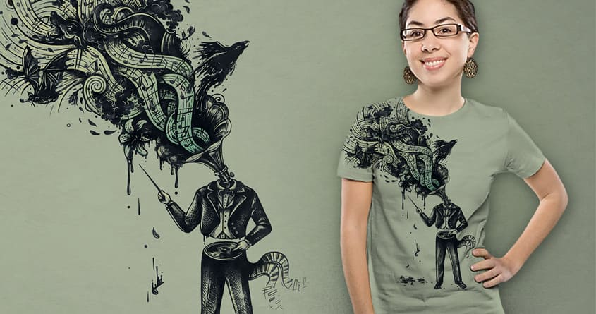 Decaying Sound of The Terror by buko on Threadless