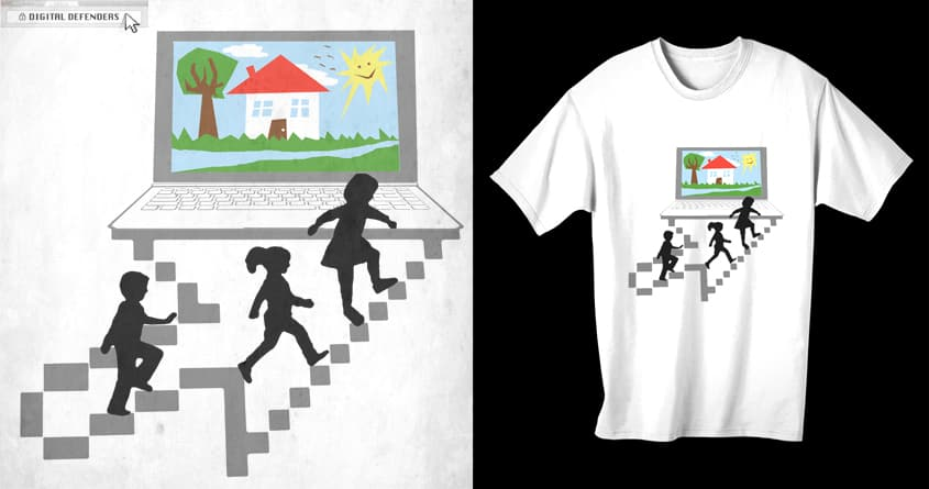 The Safe Path by ArTrOcItY on Threadless