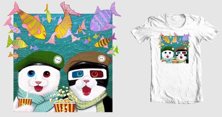 3D by Tummeow on Threadless
