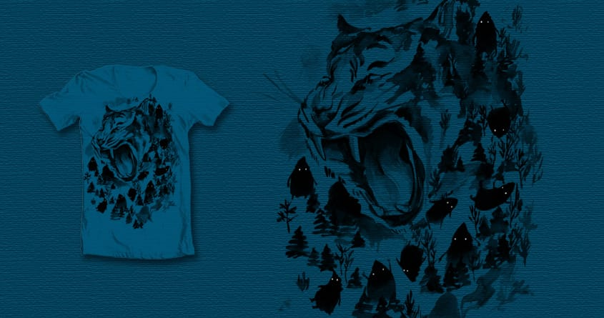 Mountain spirits by Boiled fly on Threadless