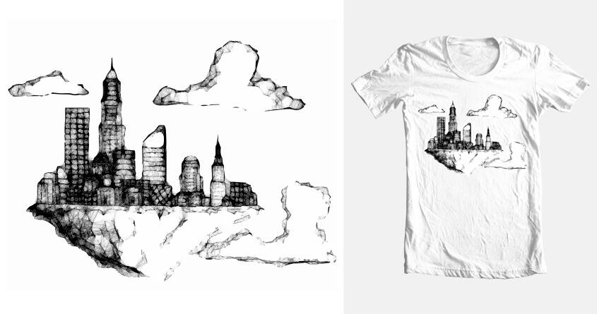 Ghost City by Chadabeep on Threadless