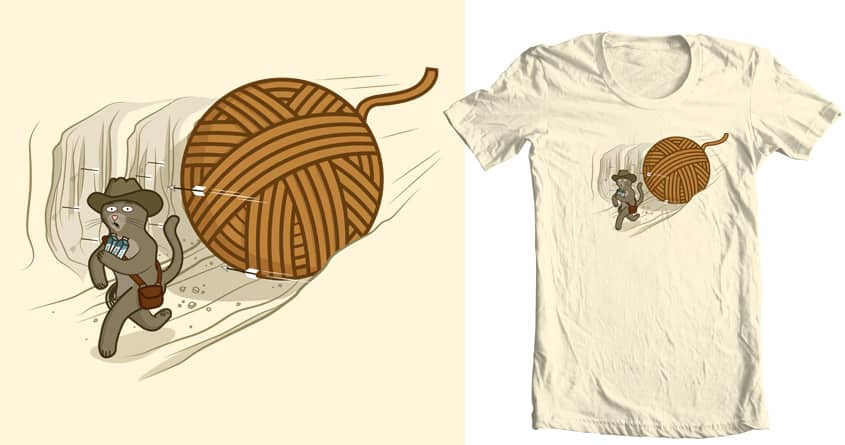 Run Indy Run! by mip1980 and goliath72 on Threadless