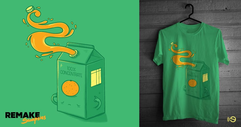 Juice concentrate by gebe and Akaka on Threadless