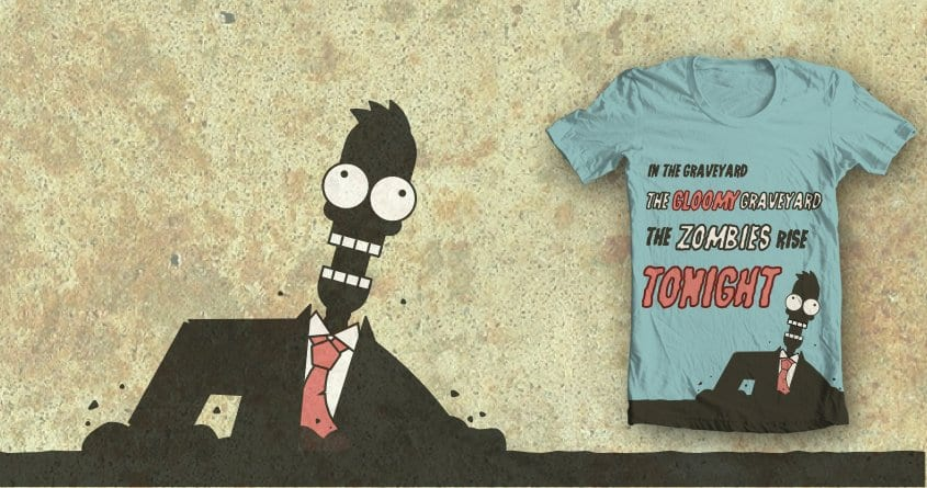 The Zombies Rise Tonight by adiplotti on Threadless