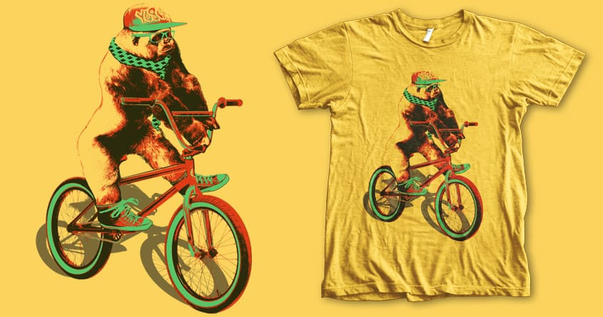 Hippie Monkey by iamrobman on Threadless