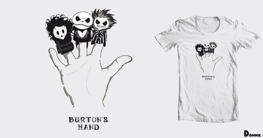 Burton's Hand by DonnieArt on Threadless