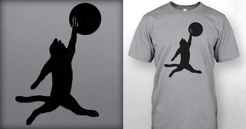Air Cat by nikoby on Threadless
