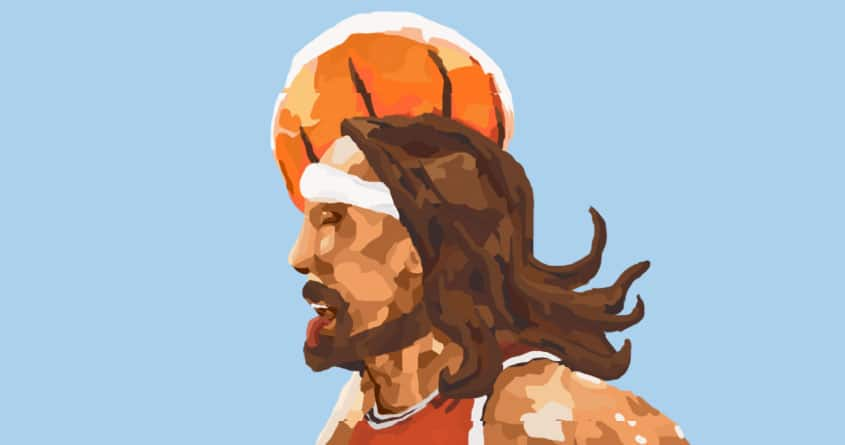 Air Jesus by Underdawg on Threadless
