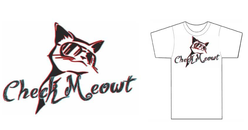 Check Meowt by ColeG89 on Threadless