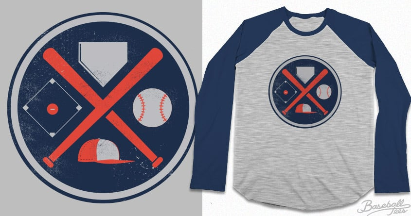Baseball Basics by Ryder on Threadless