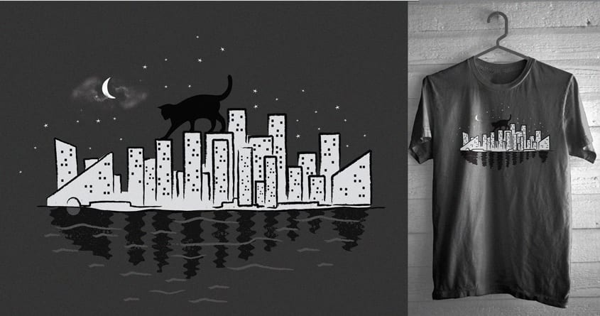 At Midnight by Skate_e1 and skitchism on Threadless