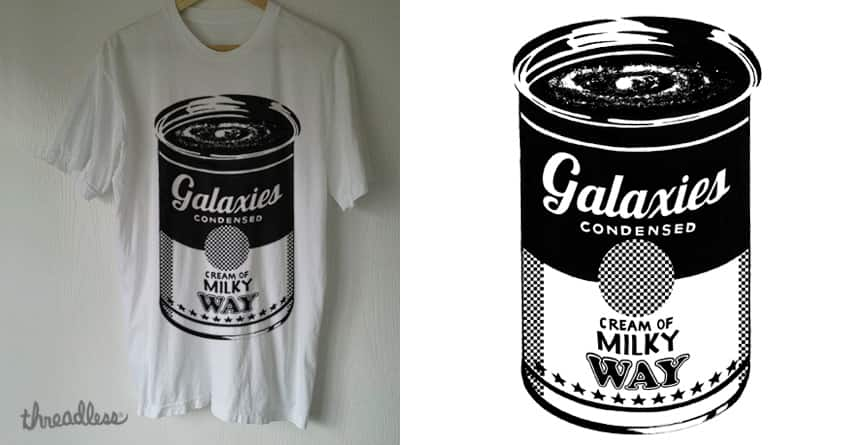 Galaxies Condensed by julero on Threadless