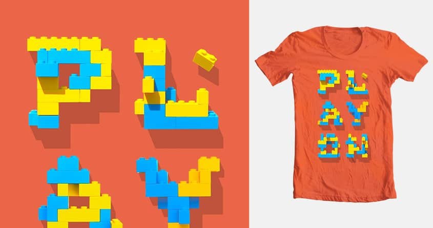 PLAY ON by D a n i e l on Threadless