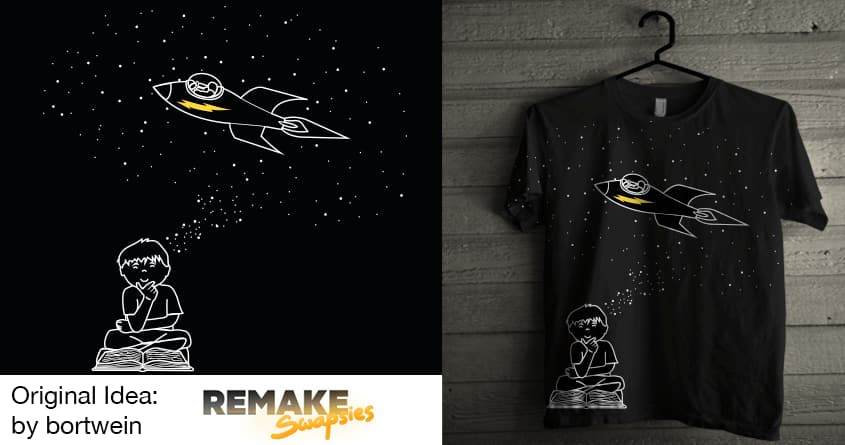 Space Cadet  by Theo86 and bortwein on Threadless