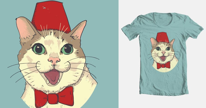 The PURRfect Companion by murkelei on Threadless