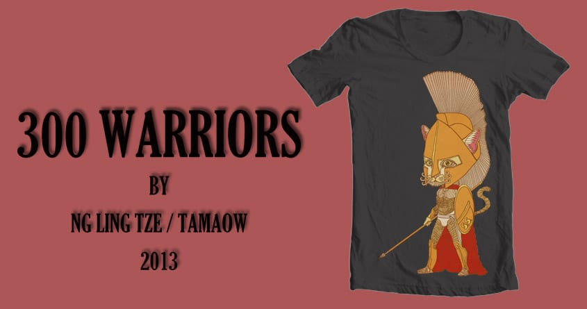 300 Warriors by tamaow on Threadless