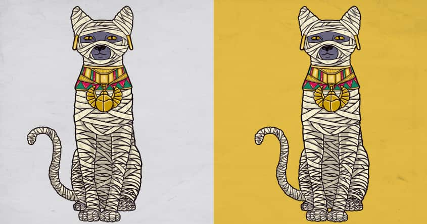 Ancient Cat Returns by fathi on Threadless