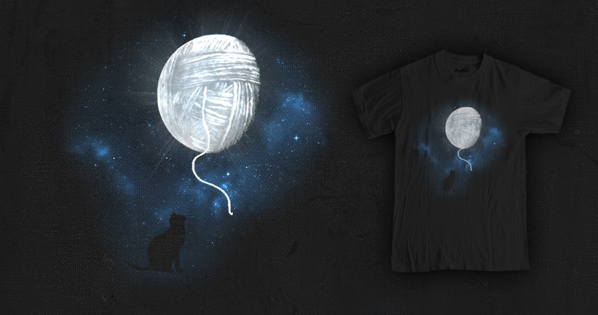 cat moon by jerbing33 on Threadless