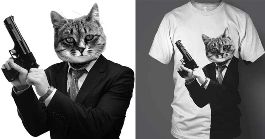 Cat! Pussy Cat! by tombst0ne on Threadless
