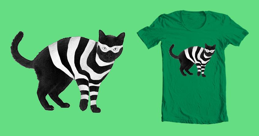 Cat Burglar, Master of Thieves by BC_Arts on Threadless