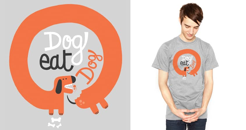 Snoop Dog Eat Dog by maximefrancout on Threadless