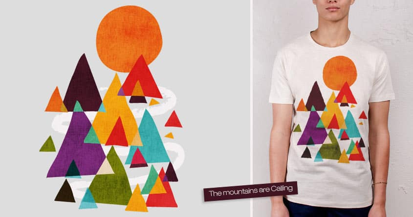 The mountains are calling by radiomode on Threadless