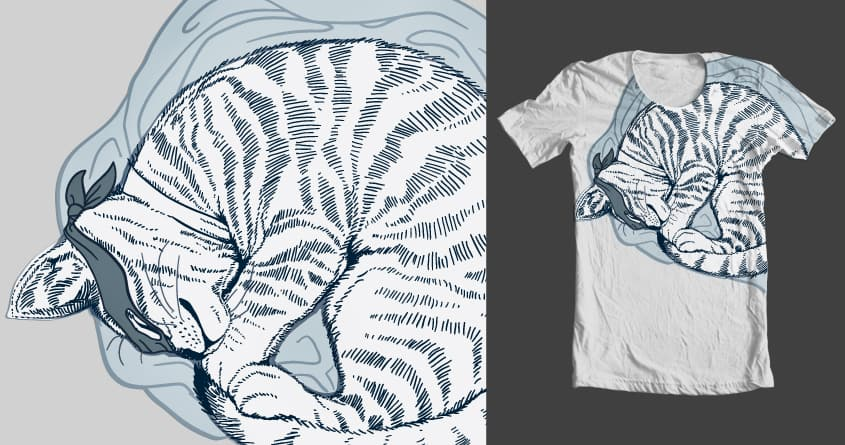 THE CATNAPPER! by nonnahsonic on Threadless