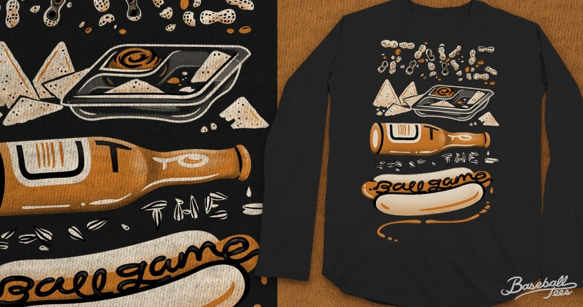 Take Me out to the Ball Game by Link Design on Threadless