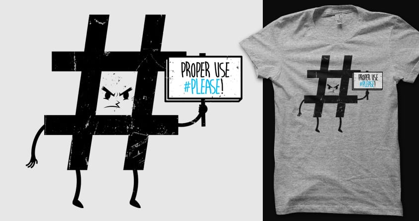 Social Protest  by 3rick05 on Threadless