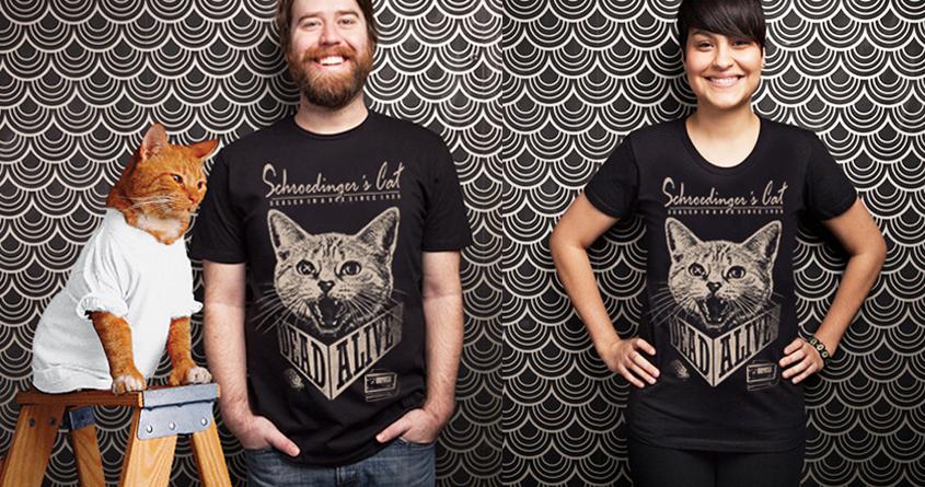 Schroedinger's Cat! by iamrobman on Threadless