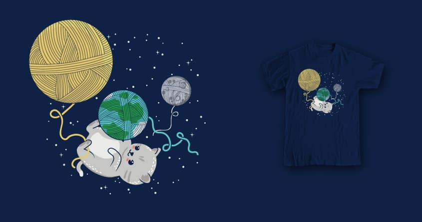 Purrfect Universe by soloyo and Andres Colmenares on Threadless