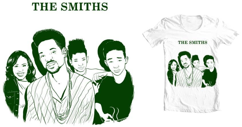 The Will Smiths by Dessinosaure on Threadless