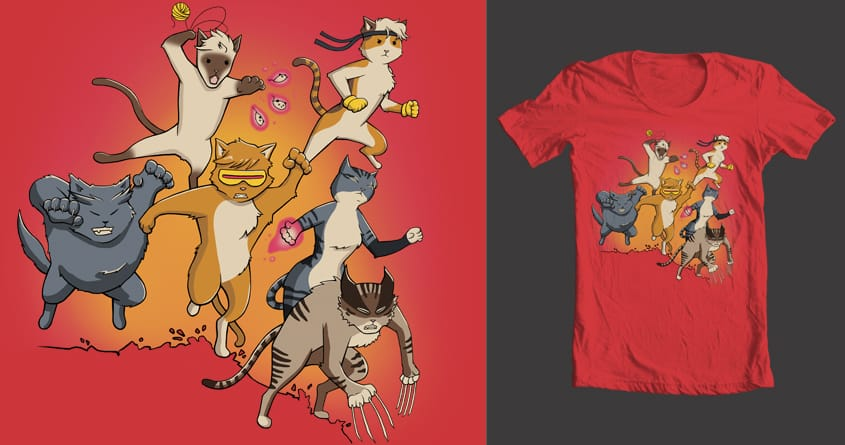 X-Cats by jaceychase on Threadless