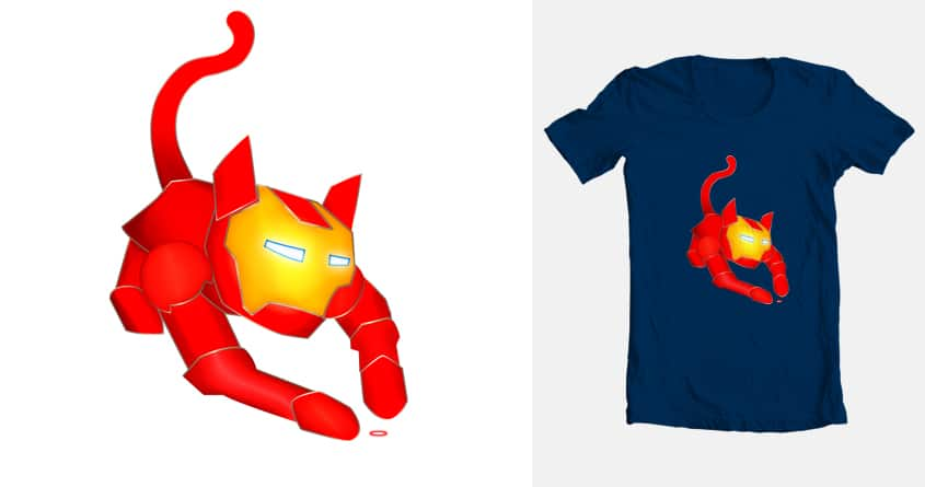 Iron Cat by LionCanvas on Threadless