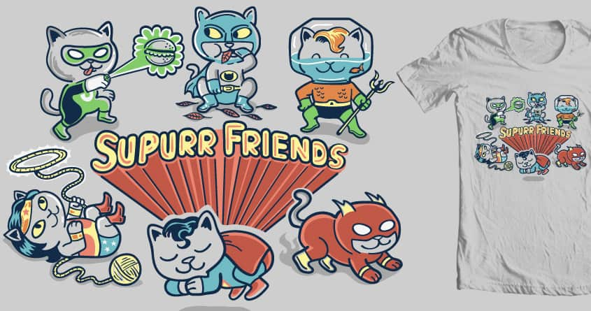 Supurr Friends by ibyes on Threadless