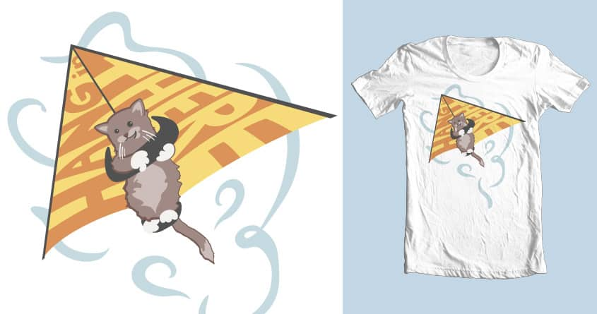 Hang (glide) In There by kylewalters on Threadless