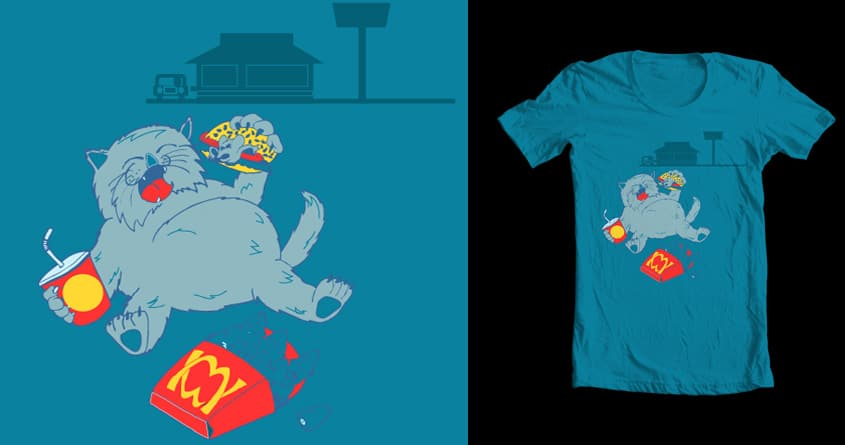 Supersize Meow by ChrisDB on Threadless