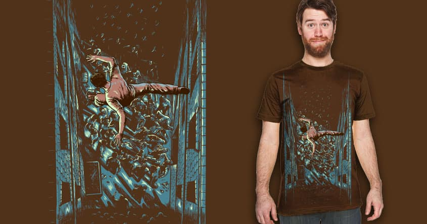 escape with style by bokien on Threadless