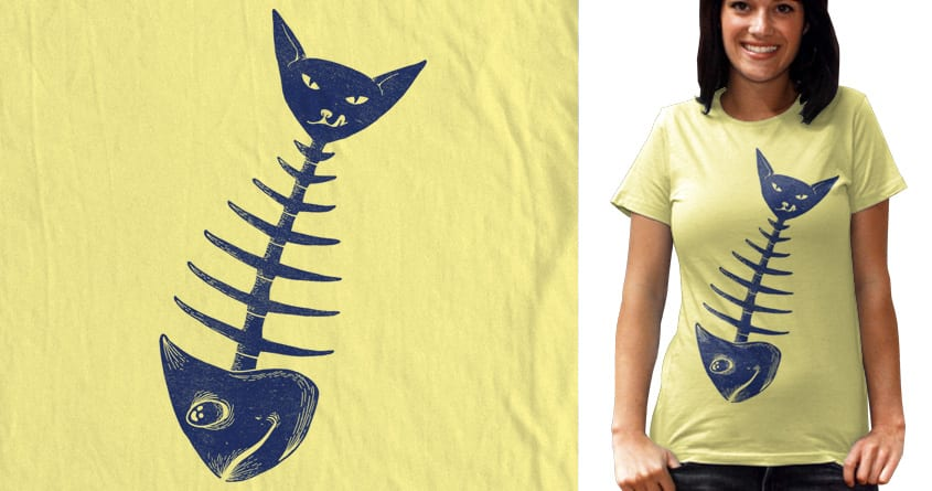BORN TO FISH by hobigambar on Threadless