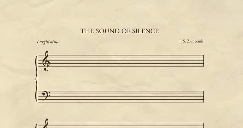 The Sound of Silence by quick-brown-fox on Threadless