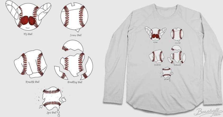 Baseballs by Theo86 and soloyo on Threadless