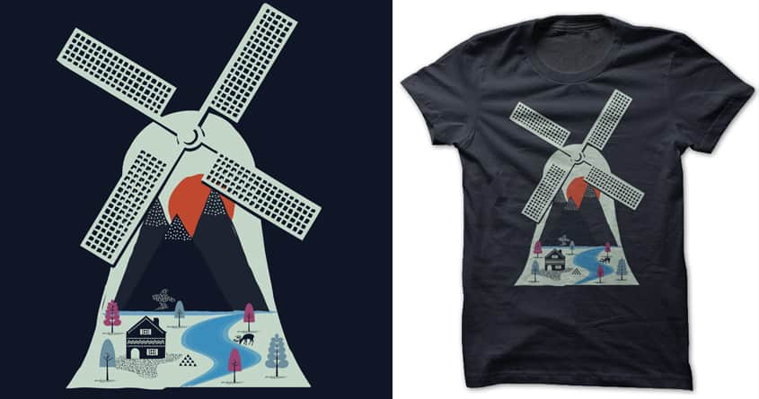 Inside the windmill by heyale on Threadless