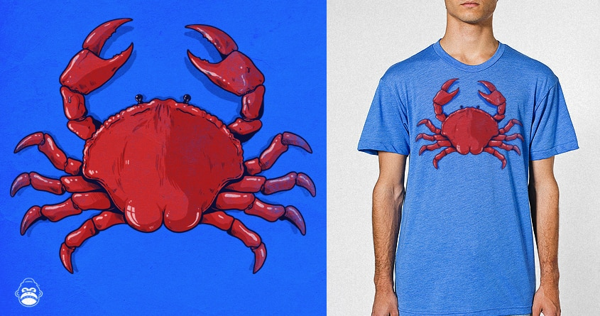 Crab Ass by alexmdc on Threadless